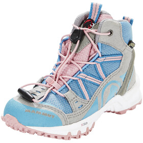 Mammut Kids Nova Mid GTX Shoes neutral grey-cloud